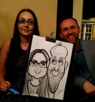 Wedding Caricature Artists Uk Hire